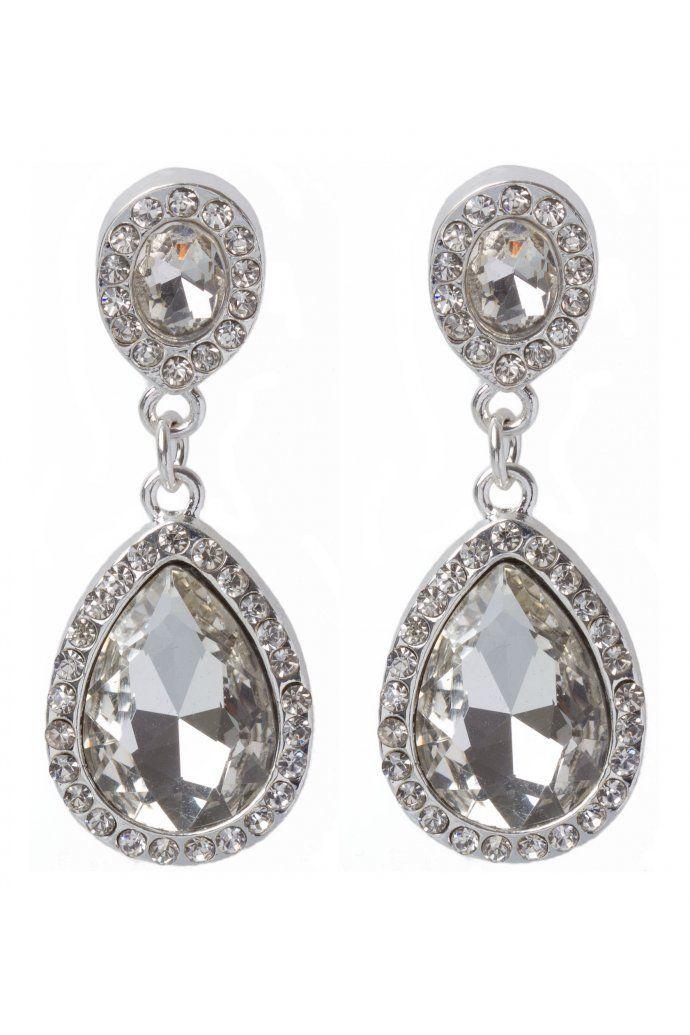 Colette By Hayman Loves The 2 Stone Drop Earrings