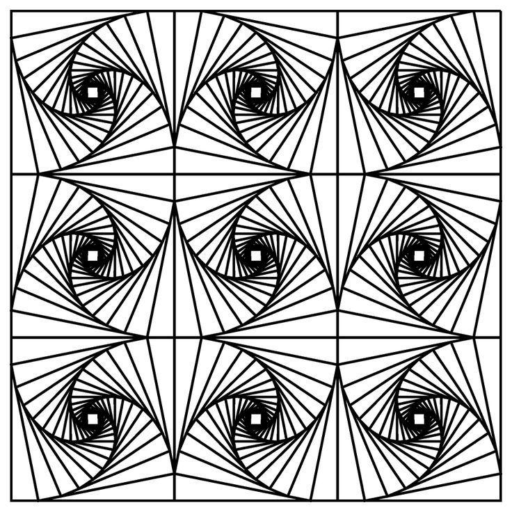 fractal coloring pages - fractal coloring page beginning of year pinterest