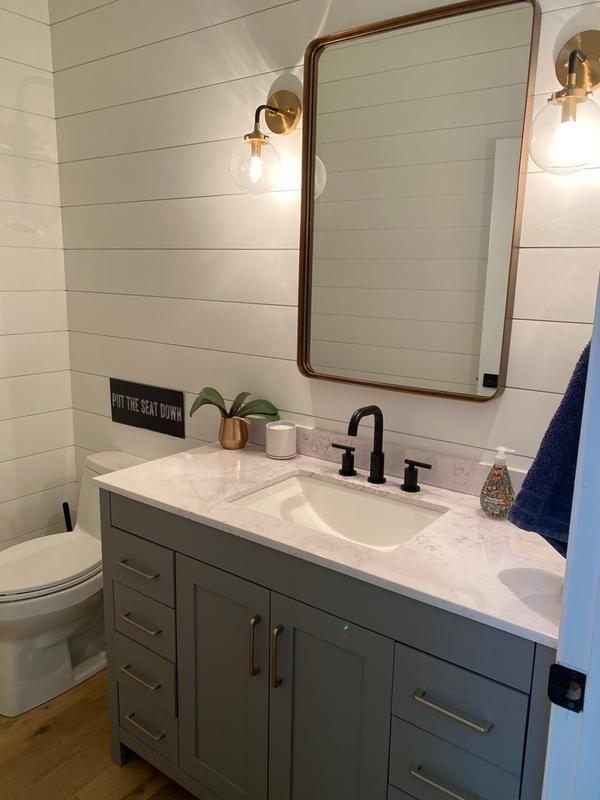 Halstad Framed Bathroom Mirror