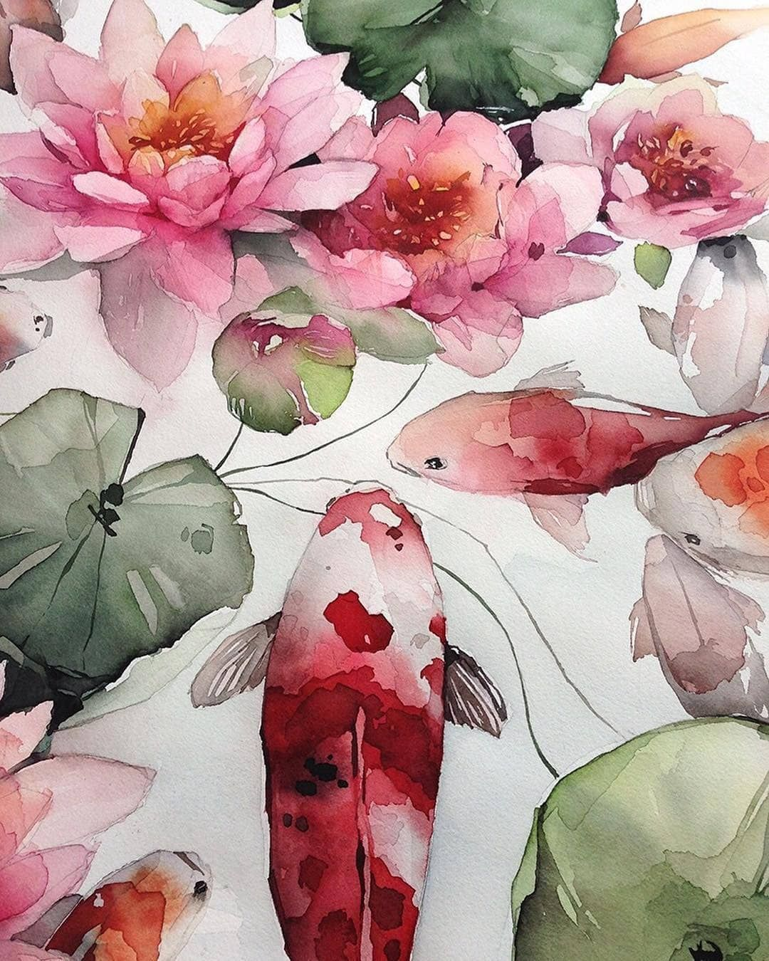 Top Watercolor Public On Instagram More Art Every Day On
