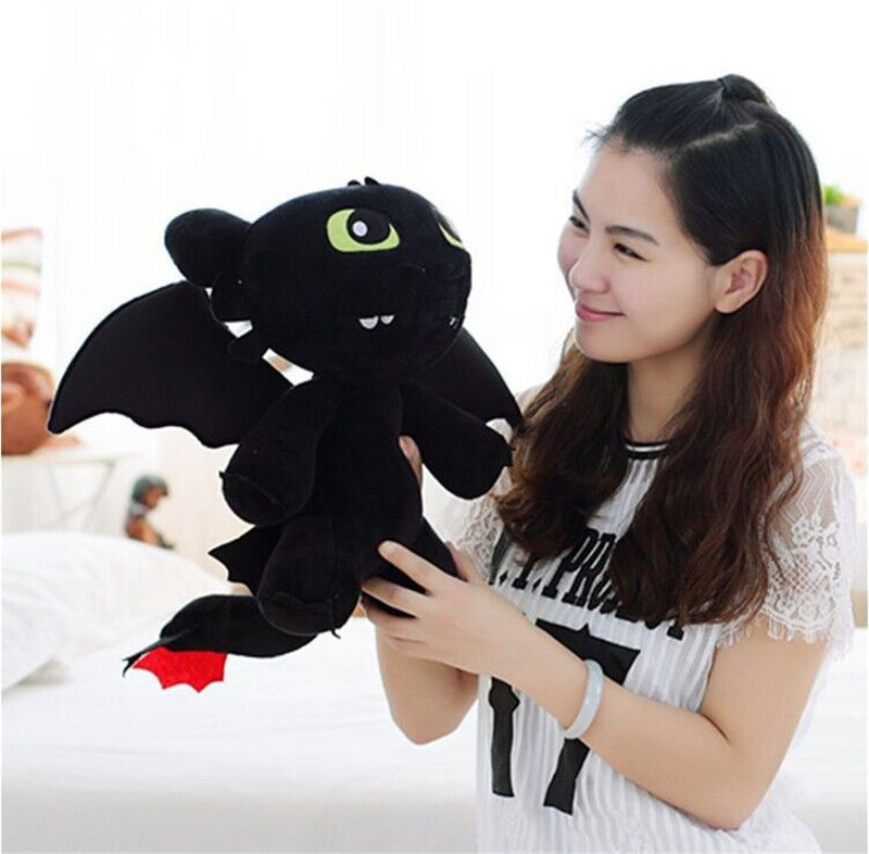 how to train your dragon plush toothless