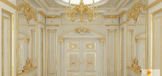 فورم جبس بورد ديكورات صالات استقبال الضيوف Luxury Homes House Plans Home