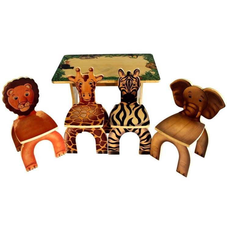 Safari Table Amp Chairs Made In The Usa With Images