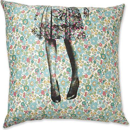 Alice liberty print cushion cover - LA CERISE SUR LE GATEAU - Bedroom - Shop Room - Home & Tech   selfridges.com