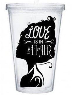 hair stylist tumbler dresser