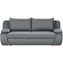 Photo of smart Schlafsofa – grau – 210 cm – 87 cm – 100 cm – Polstermöbel > Sofas > 2-Sitzer