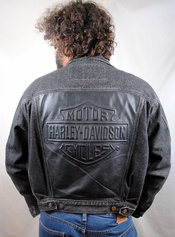 Pin By Eric Kelly On Harley Davidson Denim Motorcycle Jacket Harley Davidson Black Denim [ 1500 x 1107 Pixel ]