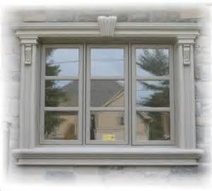 Stucco trim details at windows bing images home for Exterior keystone molding