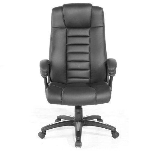 TecTake 400585 - Silla de escritorio de oficina, de cuero, color ...