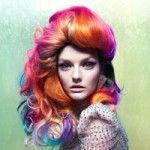 Jewel Tone Hair Color