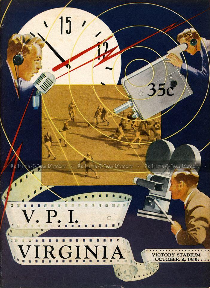 1949.10.08. Virginia Tech (Hokies) vs University of