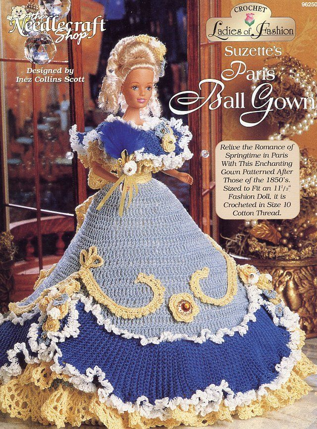Image result for barbie crochet ball gown patterns free robes image result for barbie crochet ball gown patterns free dt1010fo