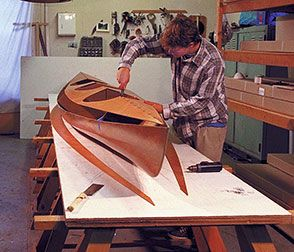 stitch and glue the deck seams | Boat building, Plywood ...
