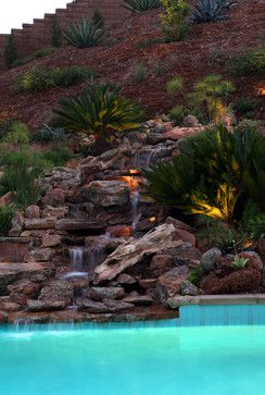 Garden Design On Steep Slopes steep hillside architecture | residential steep slope landscaping