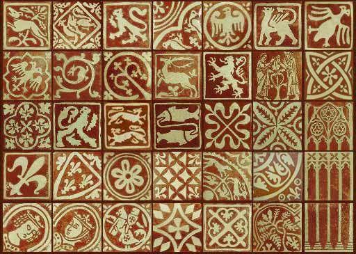 Medieval floor tiles for kitchen backsplash | ART<3 | Pinterest ...
