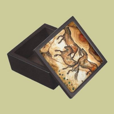 Cave Horses ** Premium Jewelry Boxes