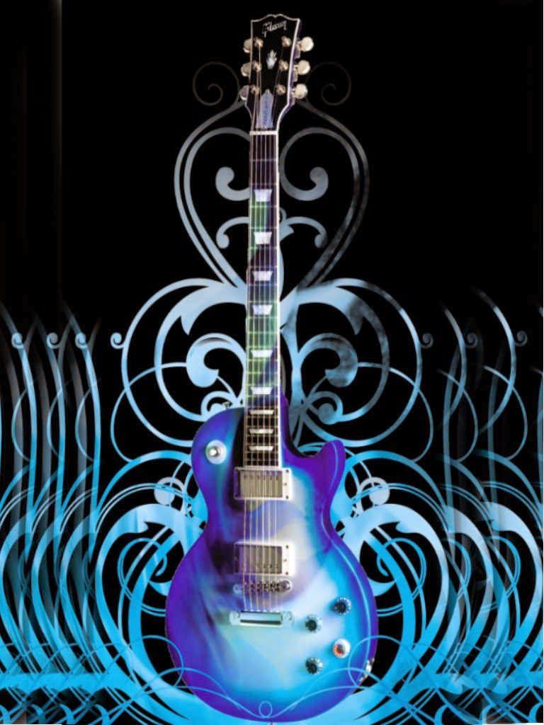 guitarwallpaperiPhone Dibujo guitarra electrica, Tipos