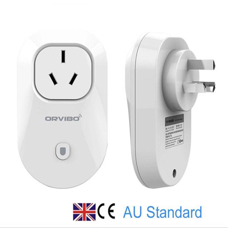 ORVIBO S20 Smart Wifi plug socket outlet with EU AU UK US adapter ...