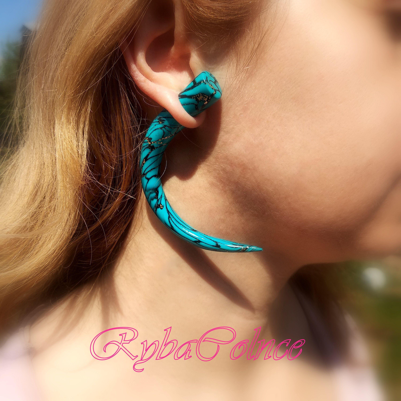 8mm 0g Bridal Dangle Plugs 5mm 4g Heart Gauges 00g 6g Gauged Earrings Choose Color 6mm 2g Ear Plugs Dangly Heart Jewelry Stud Earrings