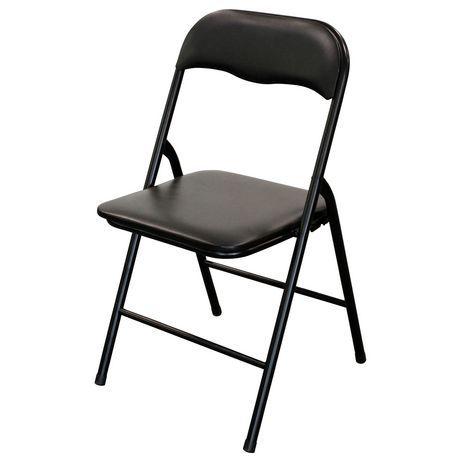 Surprising Enduro Vinyl Folding Chair Black Products In 2019 Creativecarmelina Interior Chair Design Creativecarmelinacom