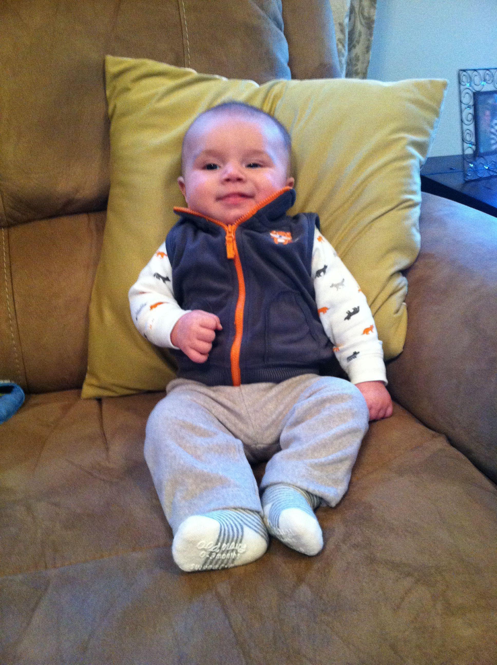 My precious boy