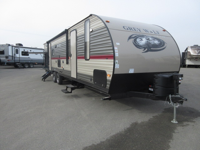 2019 Forest River Cherokee Grey Wolf 29TE Two Bedrooms