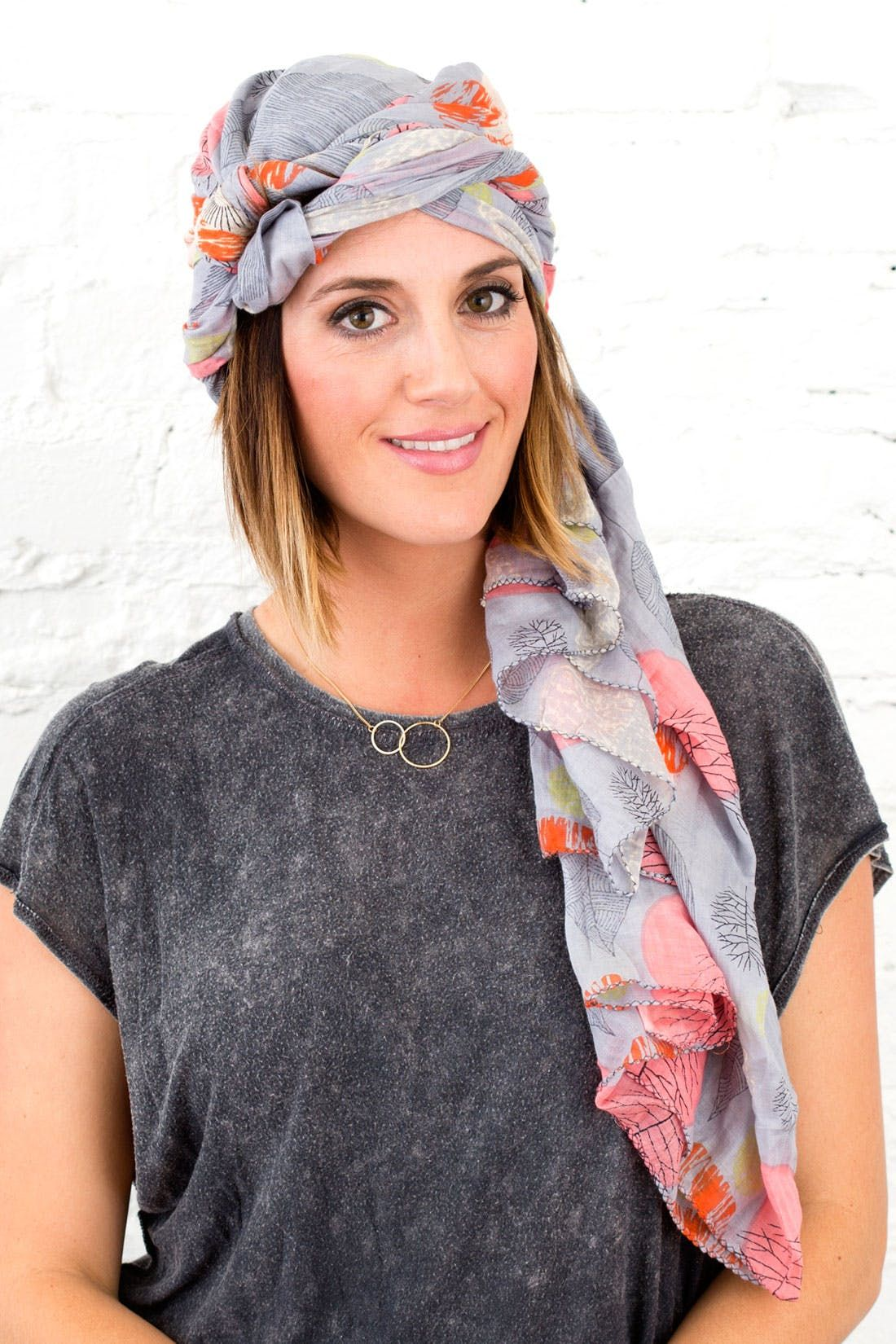 4 Ways To Wear A Scarf On Your Head This Spring Head Wrap Scarf