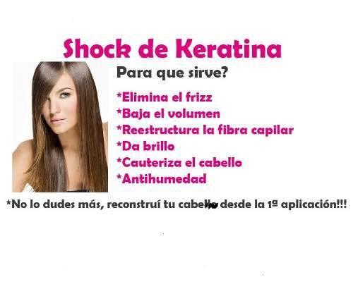 Shock De Keratina Shock De Keratina Cuidados Para El Pelo
