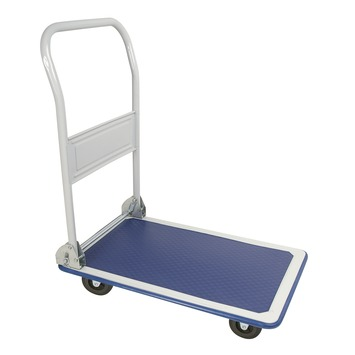Gamma Plateauwagen Inklapbaar 150 Kg Kopen Steekwagens Trolleys Zwarte Muur