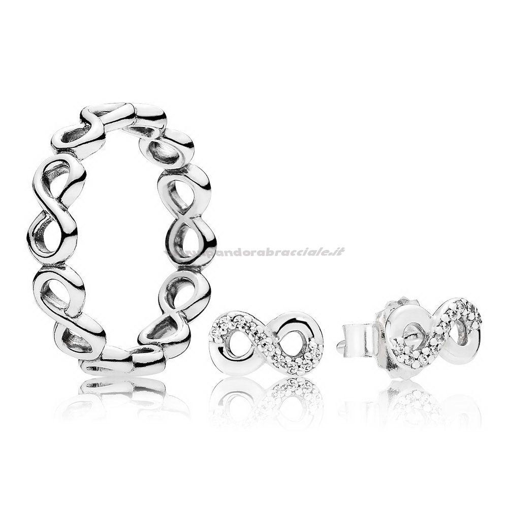 anello pandora amore infinito
