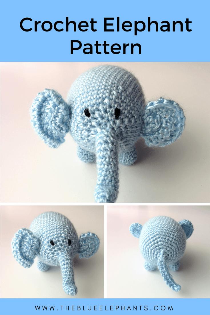 Crochet Elephant Pattern + Opening Shop!