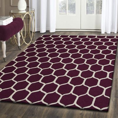 Simple Luxury Superior Hand Tufted Brown/Ivory 5' x 8' Area Rug