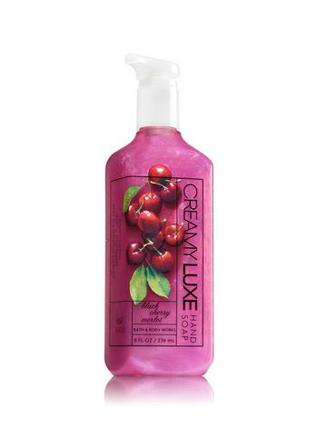 Black Cherry Merlot Creamy Luxe Hand Soap Bath And Body Works