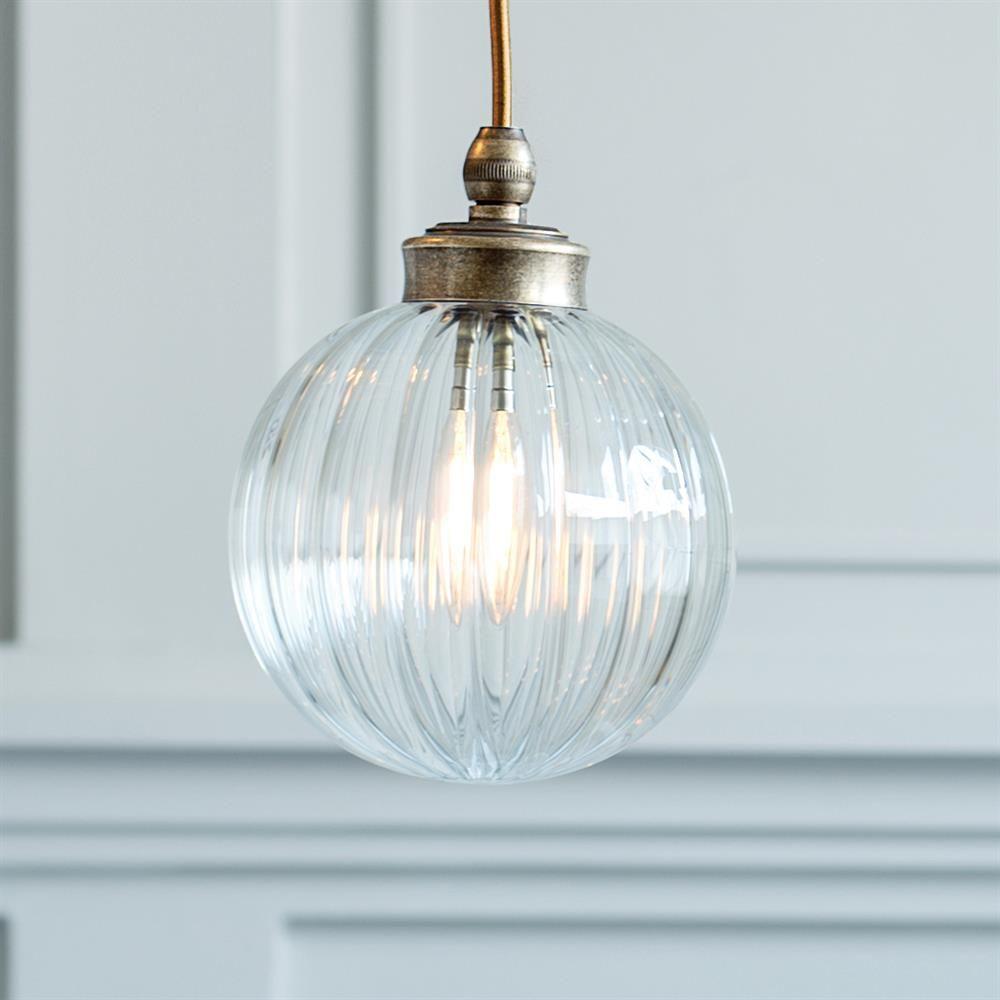 Putney Bathroom Pendant Light in Nickel | Bathroom pendant lighting ...