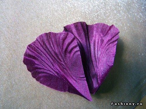 Цветы из лепестков своими руками