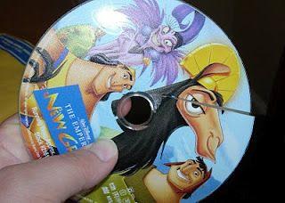 Broken Disney DVD or Blu-ray?