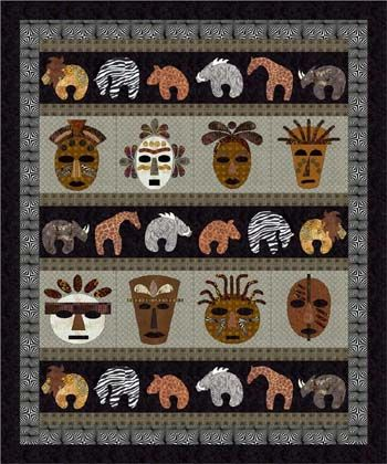 Savanna Flair Quilt pattern #8103. This quilt pattern has an ... : african quilts patterns free - Adamdwight.com