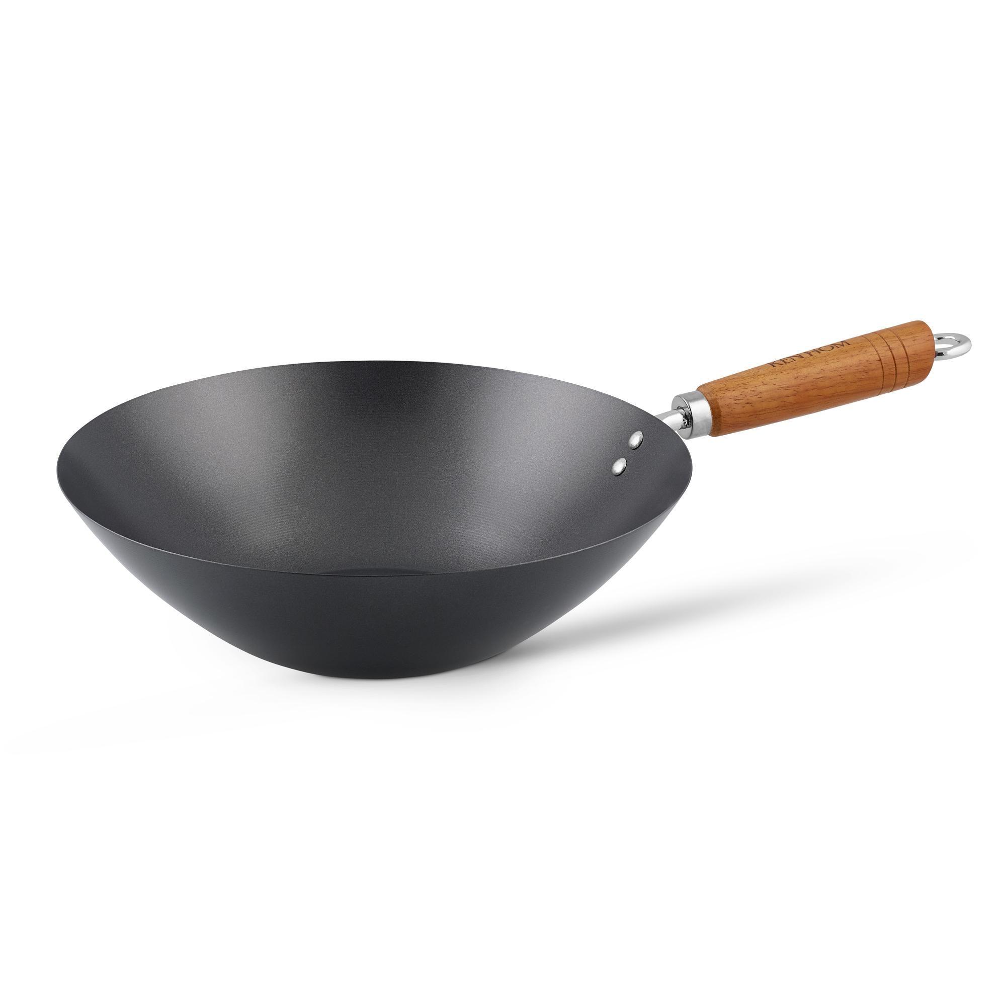 Ken Hom Classic Non-Stick Carbon Steel 31cm Wok