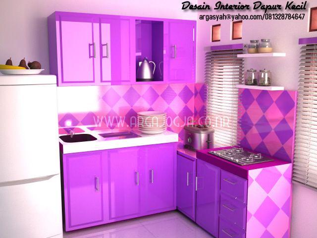 desain interior dapur kecil warna 640 480