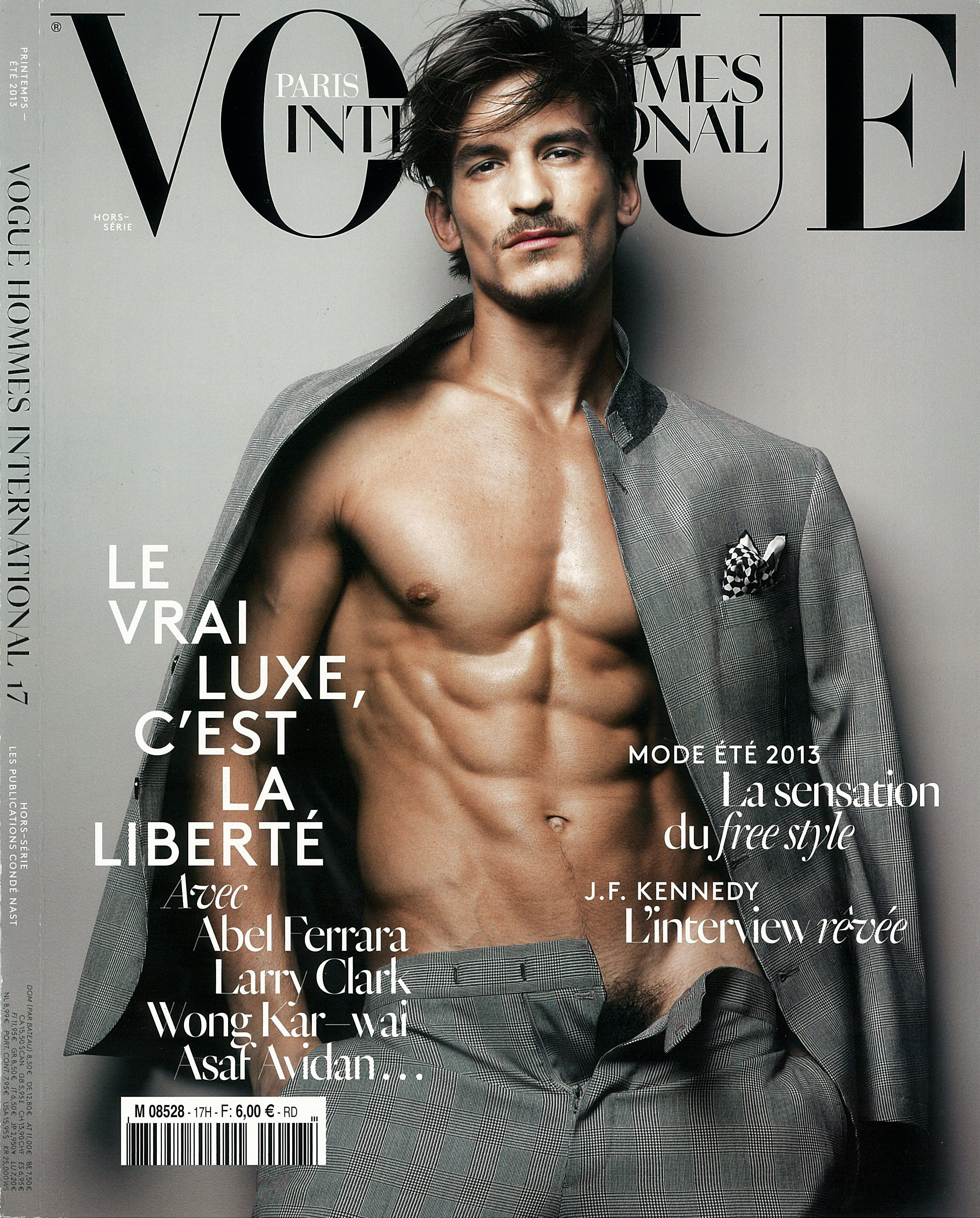 f61f91af289 What happened when we had coffee with cover model Jarrod Scott? Get an  exclusive first look inside the Spring/Summer 2013 Vogue Hommes  International ' ...
