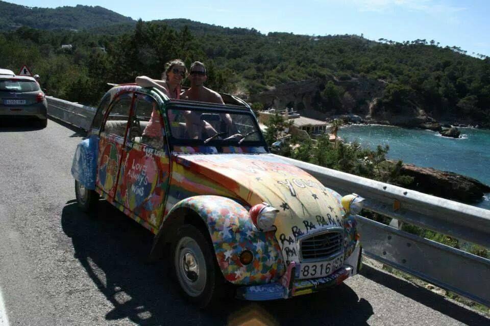 Do you want to rent a 2CV on Ibiza, Mallorca or Curacao? Ducks ...