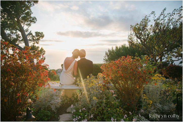 La Venta Wedding Palos Verdes | Wedding inspiration | Neighborhood Church Wedding | Kathryn Colby Photography 2016© | sunset pictures