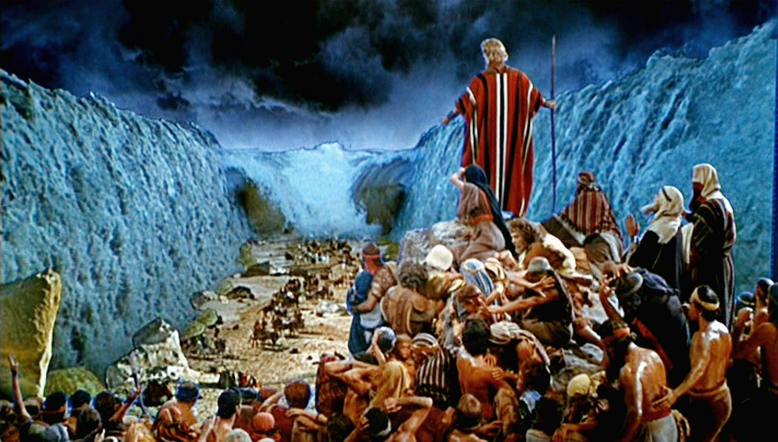 Bible 7 Evidence: The Red Sea Crossing (Ron Wyatt ... |The Red Sea Crossing Heston