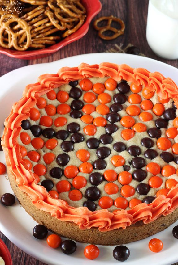 Quick and easy cookie cake recipe