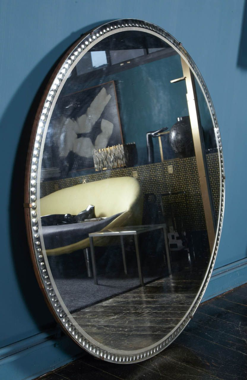 Large and Unique 1930 French Art Deco Mirror image 2