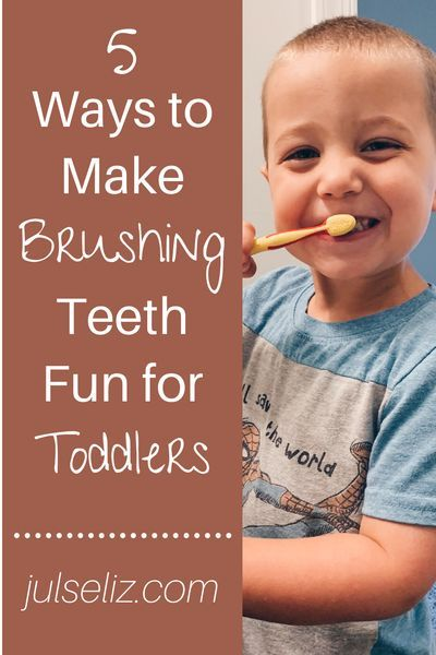 Do you struggle with your toddler to get their teeth brushed? This post gives different ways to make teeth brushing fun. Click through to see what will work with your toddler. #motherhood #toddlerhood #parenting #tips