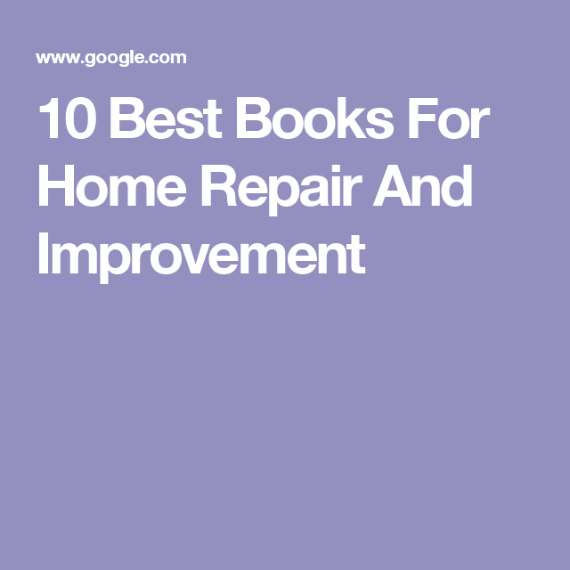 10 best books for home