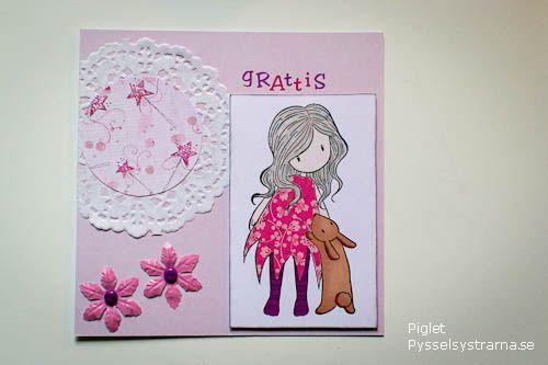 födelsedagskort se Birthdaycard by Piglet at pysselsystrarna.se Födelsedagskort  födelsedagskort se