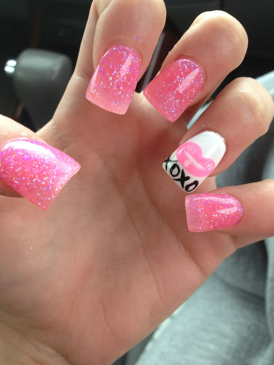 Dont Like The Wide Nail But I Love The Polish Color And Xoxo