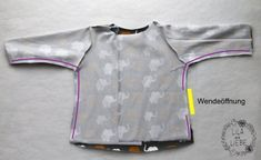 Kinderjacke Freebook Jackenliebe - kostenloses Schnittmuster #clothpatterns